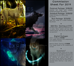 2019 Commission Sheet: OPEN by ghostlyspirit