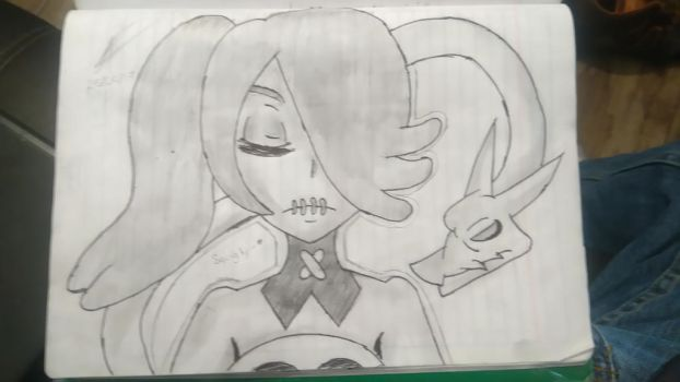 this is a fucking glorious draw of squigly by me!! by DarkayArtist