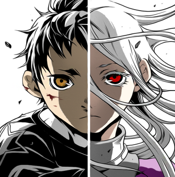 Shiro and Ganta - Deadman Wonderland by iamjcat