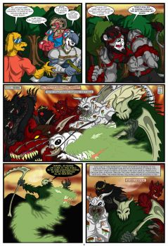 INVASION PAGE 8 by Eggplantm