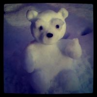 Snow Bear by AdaBerry