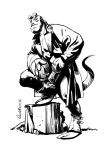 Hellboy by Paul-Moore