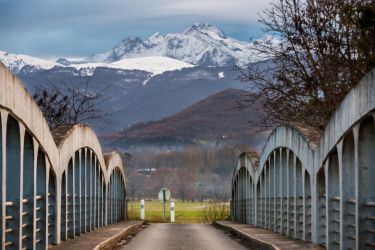 Bridge to the mountains by eVolutionZ
