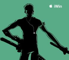 iPod Zoro by Nyn-the-Cat