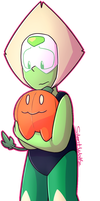 Peri and Pumpkin by Silentwoofz