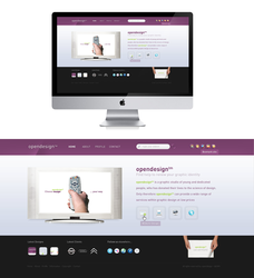 Opendesign Website by ejsing