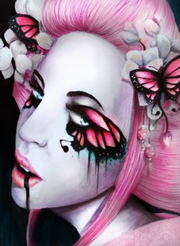 The Pink Butterfly of Death by pinkbutterflyofdeath
