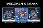 Megaman X iOS version by Gregarlink10