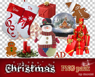 Christmas PNG pack by Sharah11