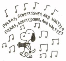 Snoopy's Accordion by dth1971