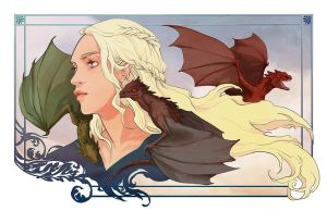 Mother of Dragons by beanclam