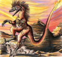 Raptor Red XIII by EWilloughby