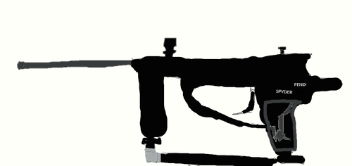 Paintball Marker by IsaacTriesAnimating