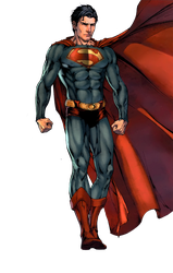Superman Render by RatedrCarlos