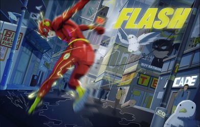 The Flash by chris-gooding