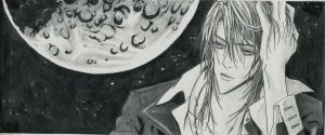 Luca and the moon by ShadowofChaos666