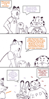 The Mark extra page 'What if...' by Koraru-san