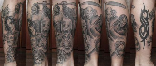Tattoo Slipknot 2 by Panico747