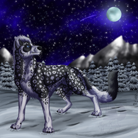 Trade- Winter night by Narncolie