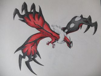 Yveltal by ImmaCatastrophe