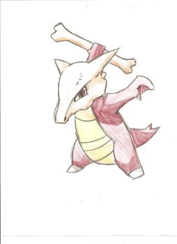 Marowak by Excalibur5k
