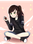 Collab - Smol and Cute - YokinaKandaina by queen-val
