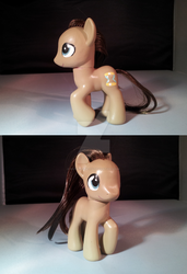 My Little Pony Custom FOR SALE: Dr. Whooves/Hooves by Rayne-Is-Butts