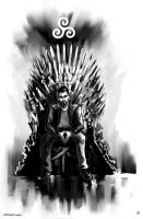 Derek Hale x Iron Throne by AkiMao