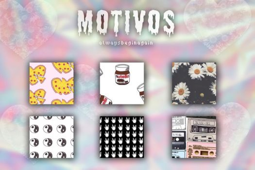 +Motivos {Patterns} #2 by AlwaysBeginAgain