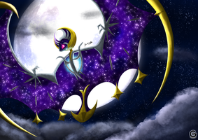 Lunala by gamefan5