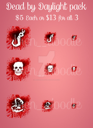 Dead by Daylight Emote pack FOR SALE by Brenda-Malfoy
