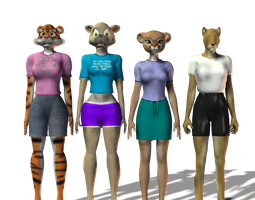 Anthro Comparsions by LionkingCMSL