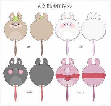 MAGE: A-3 Bunny Fans by creamboys