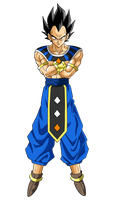 Vegeta (God Of Destruction) by hirus4drawing
