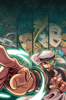 Street Fighter V FCBD Cover by edwinhuang