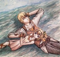 Stargazers (Edna and Eizen) by May-May-Meow