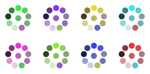 Related Colours by default-cube