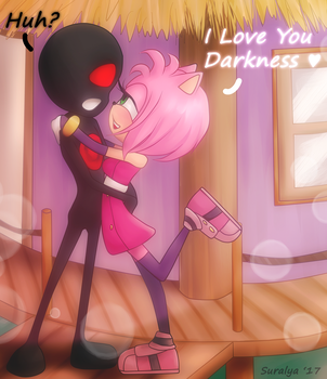 Request Darkness and Amy by Suralya