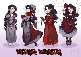 OC REF: Victoria Webster by Kate-FoX