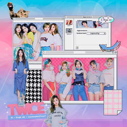 344 TWICE Png pack #02  by happinesspngs