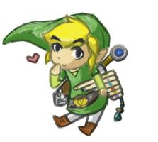 Toon Link by PictoShaman
