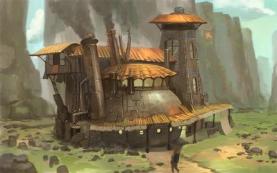 The house of iron by raqsonu