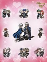 Fire Emblem: Lovable Bonds by MelpomenesJuny