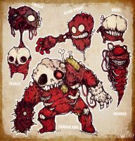 GORE FIENDS by Strapstar
