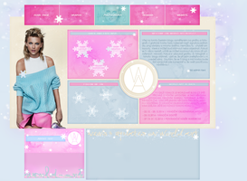 Past layout #3 | Baby it's cold outside by KeviWorldArt