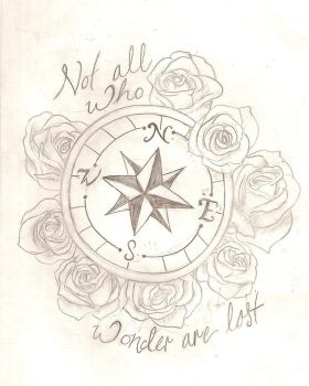 Tattoo Sketch for Friend by ragdoll-jester