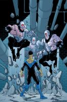 Invincible cover 36 by RyanOttley