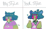 Style meme by 0ceanprince
