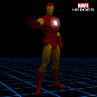 Marvel Heroes - Iron Man [Classic] by CaxUchiha