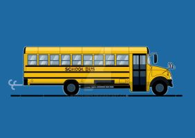 School Bus by Wioch-Men